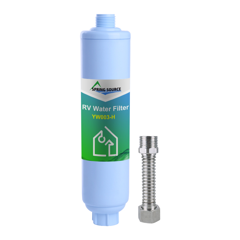 Rated Water Filtration Cartridge for RV & Outdoor Water Filtration (YW003-H)