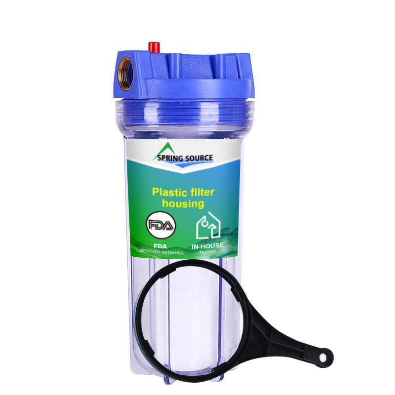 10 inch Clear Whole House Water Filter Wholesale Low Price Guarantee
