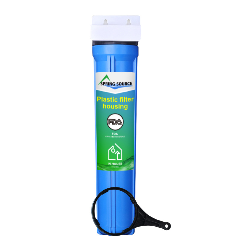 10x2.5 inch Whole House Water Filter System FDA Approved Housing&Cartridges