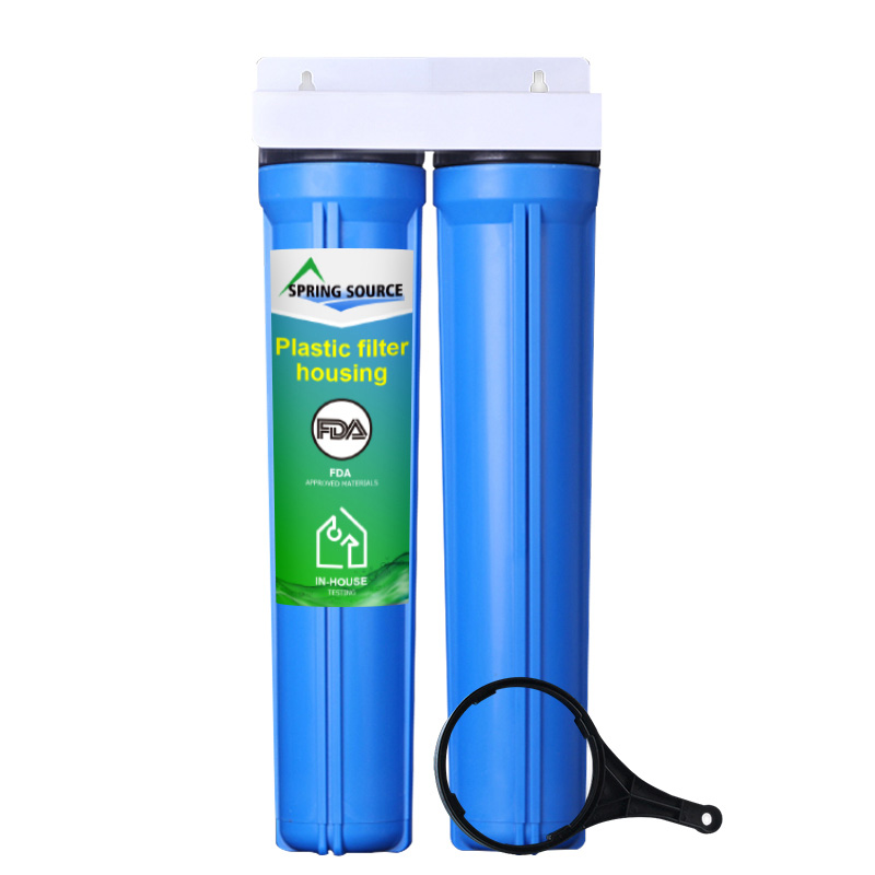 20x2.5 inch 2-Stage Whole House Water Filtration System Wholesale Cheap and Fine