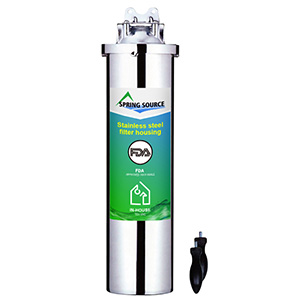 20 x 4.5 Stainless Steel Water Filter Housing in Low Trade Price (YDSS20-SS1BB)