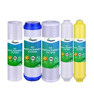5-Stage Home RO Water Filter Replaced Set Cartridges Low Wholesale Pricing