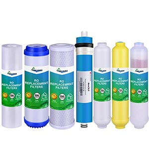 FDA Cartridges Mineral Filter for Reverse Osmosis Water Purification (6 Stages)