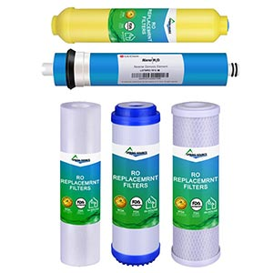NSF Reverse Osmosis Mineral Cartridge Home RO Membrane Water Purifier (5 stages)