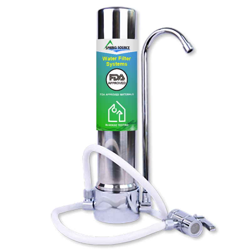 Kitchen Faucet Counter Top Water FIlter System Wholesale Low Price Guarantee