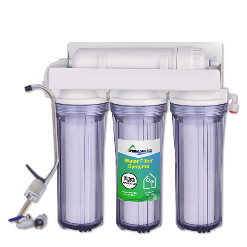 4-Stage FDA Approval Under Sink Water Filtration System Bulk Supply Low Price