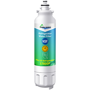 LG fridge water filter compatible for LG brand LT800p (RWF3500A)