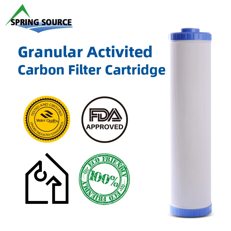 20x4.5 inch Granular Carbon Water Filter by NSF/ANSI Standard 42, 372