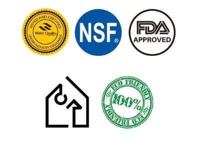 3 Popular Authorized Certifications of Home Water Filter Cartridge