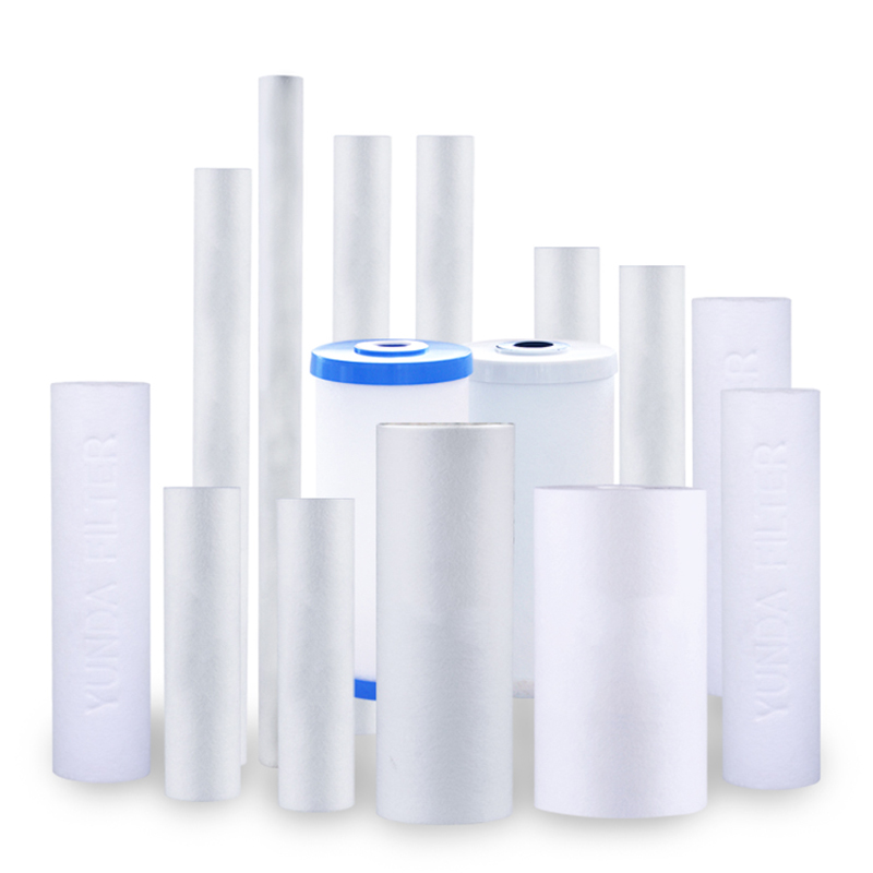 5 Micron Sediment Water Filter Cartridges for Whole House & RO Systems