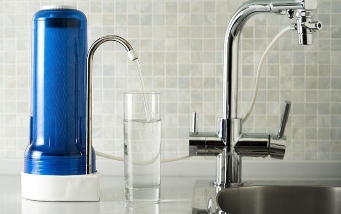 Working Principle of Countertop Drinking Water Filter System