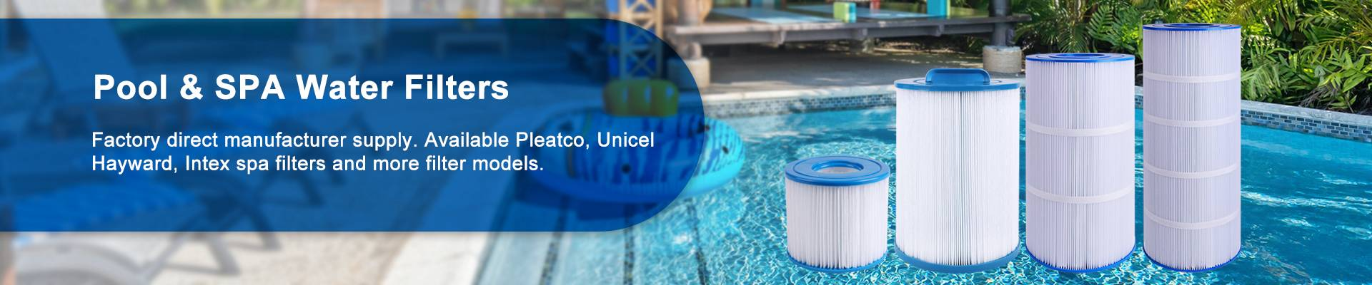 Pool Water Filter Cartridge