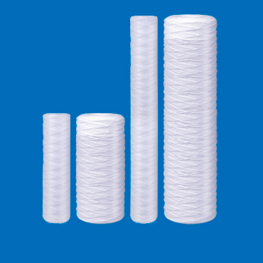 String Wound Sediment Filters