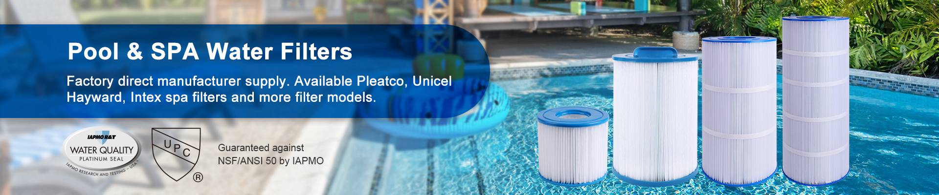 Filters for Unicel