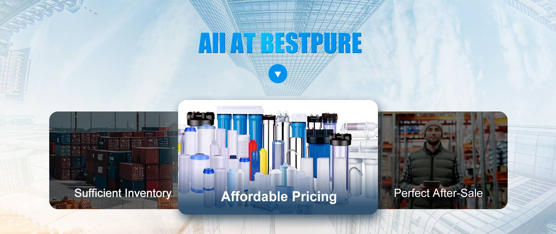Wholesale Water Filters Manufacturer