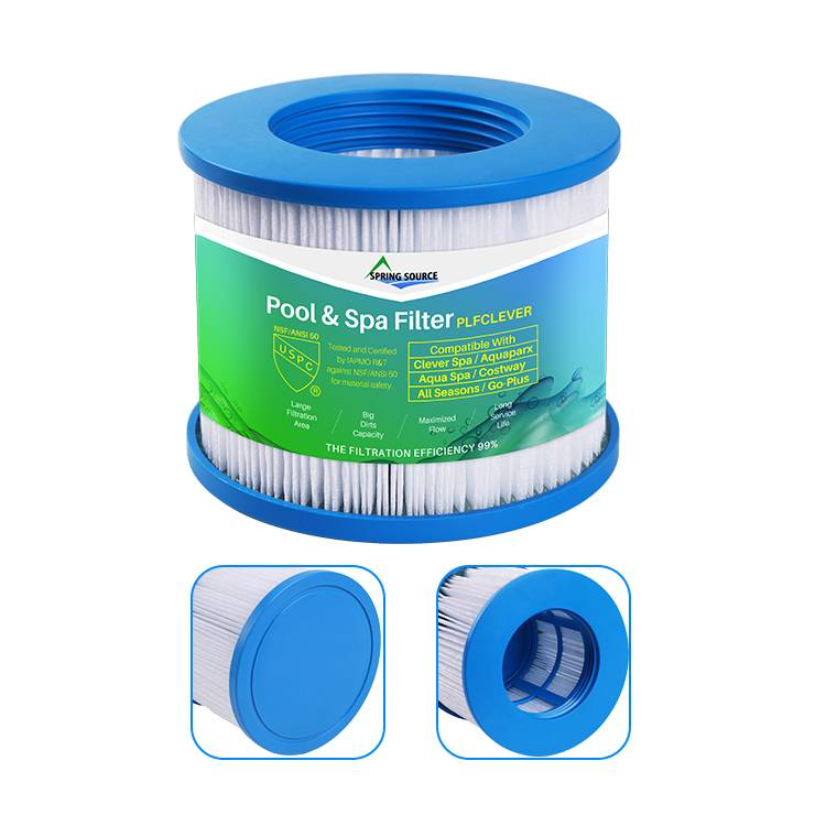 Spa Water Filter Cartridges for Clever/ Aquaparx/ Aqua/ All Seasons/ Go-Plus